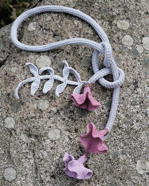crocheted belt/neckpiece by MarianneS, via Flickr
