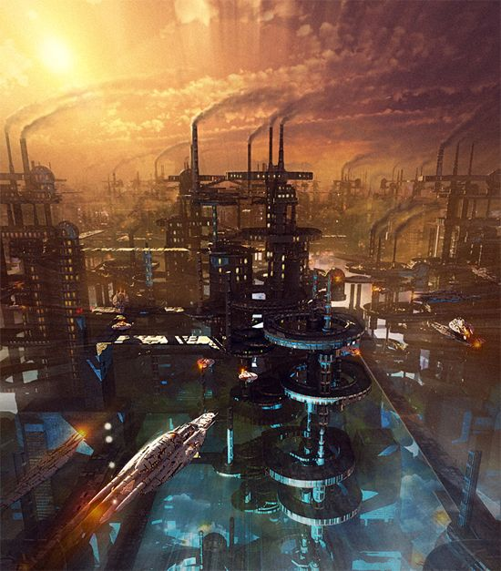 50 breathtaking future city concept art truly smart and