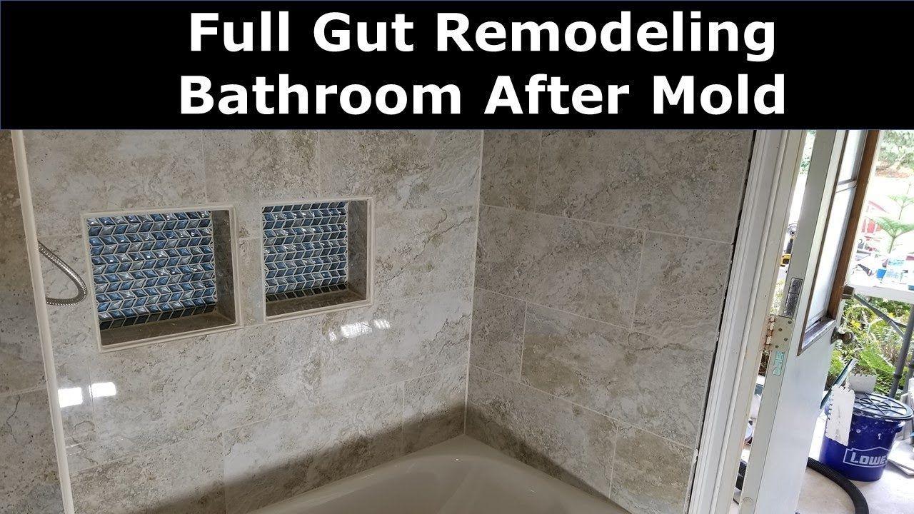 Diy Bathroom Remodel After Mold New Shower Tiles Tub Vanity Toilet Shower Tile Bathroom Renovation Diy Diy Bathroom Remodel