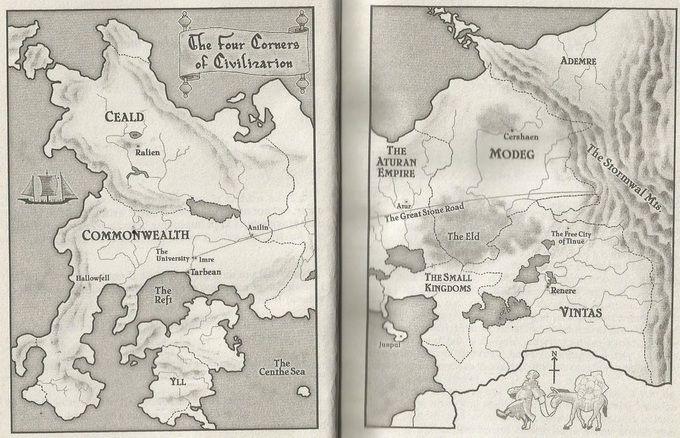 fantasy book maps | Fantasy Maps | Fantasy map, Fantasy books, Map on the riyria chronicles map, unicorn chronicles luster of a map, powder mage trilogy map, terry pratchett discworld map, jim butcher codex alera map,