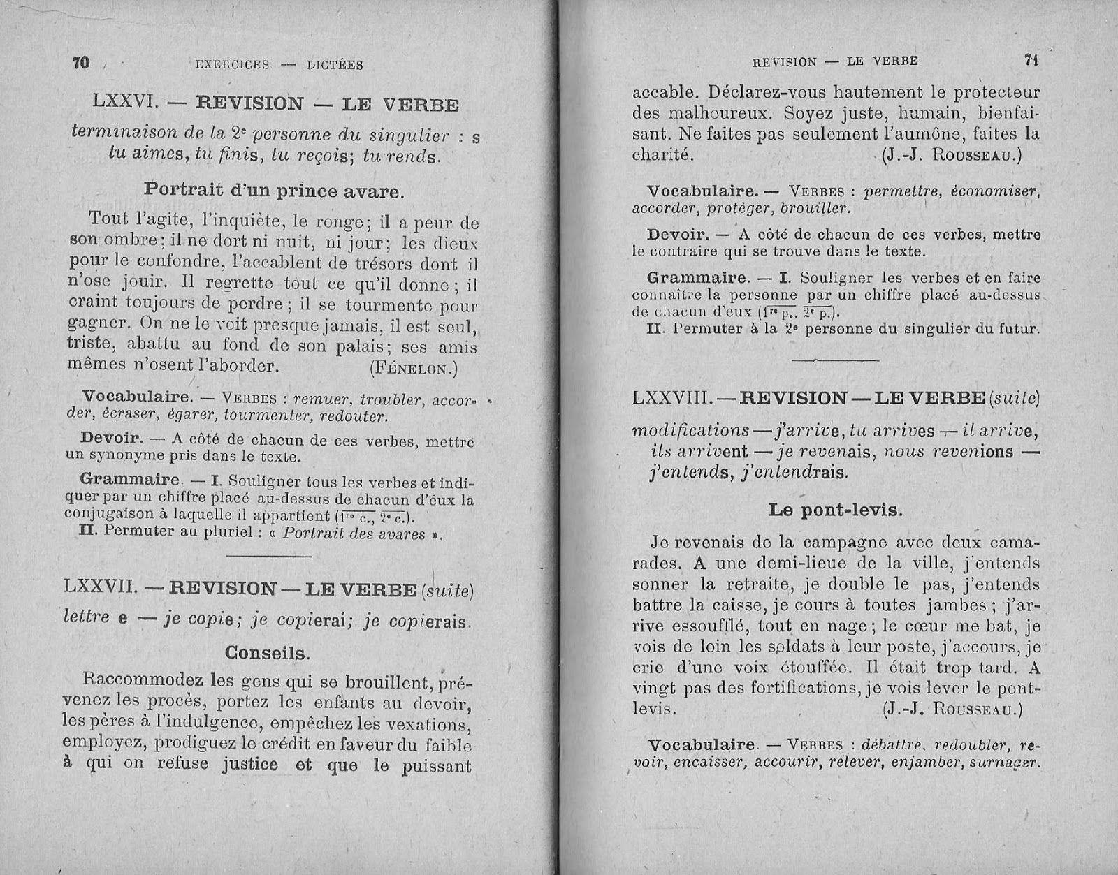 David, Chabé, Exercices & Dictées CE (vocabulaire, devoirs ...