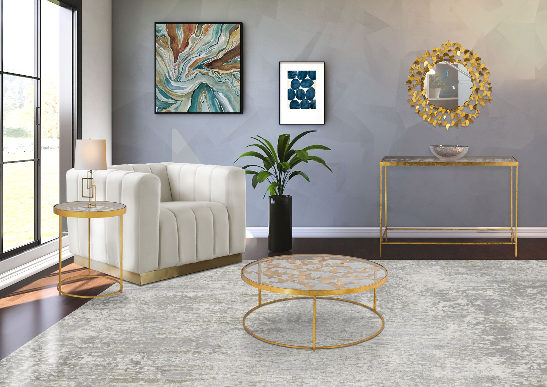 Butterfly Gold Coffee Table 470 Meridian Furniture Coffee Tables In 2021 Meridian Furniture Coffee Table Gold Coffee Table [ 1274 x 1800 Pixel ]