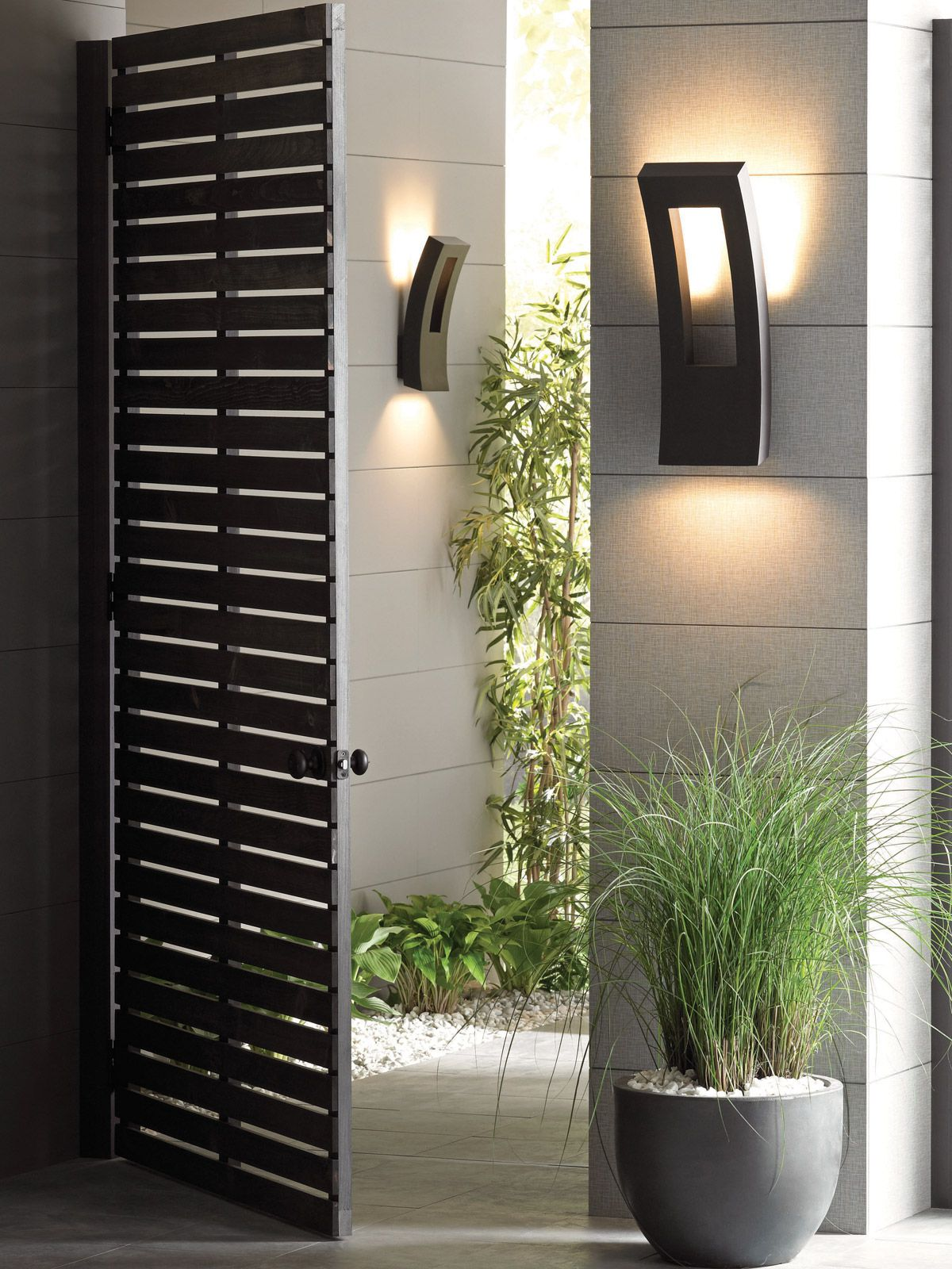 Modern Exterior Lights #22: 1000+ Images About Modern Outdoor Lighting On Pinterest | Terrace, Floor Lamps And Lamps