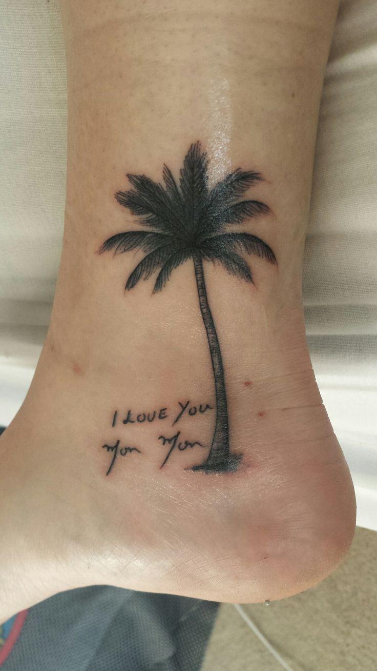 palm tree tattoos on pinterest