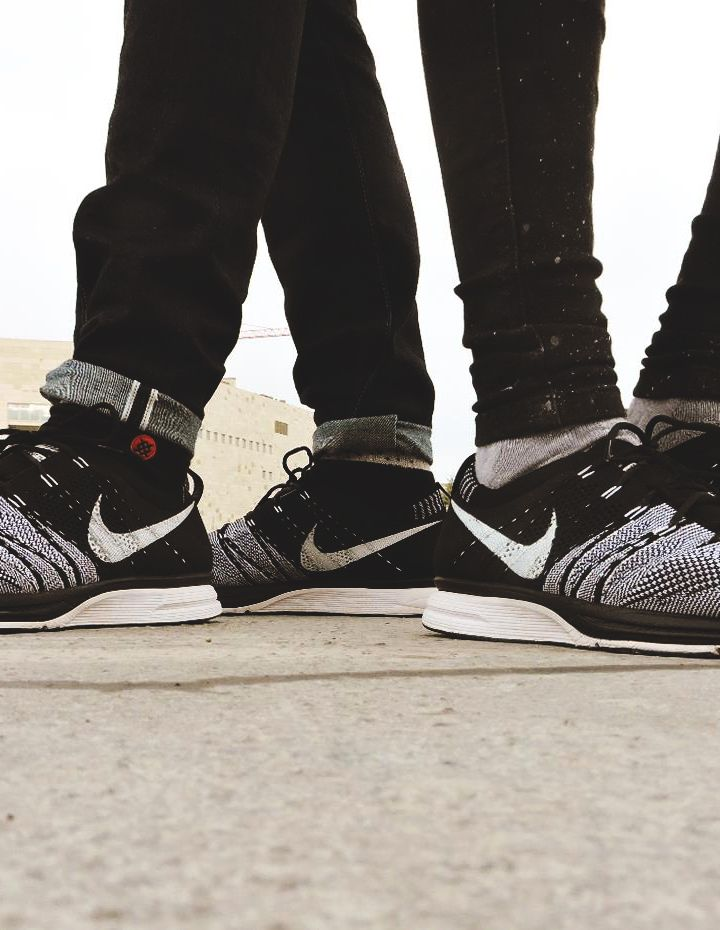 0d7b6ff99c0 Nike Flyknit Trainer - Black White (by ciesko o)