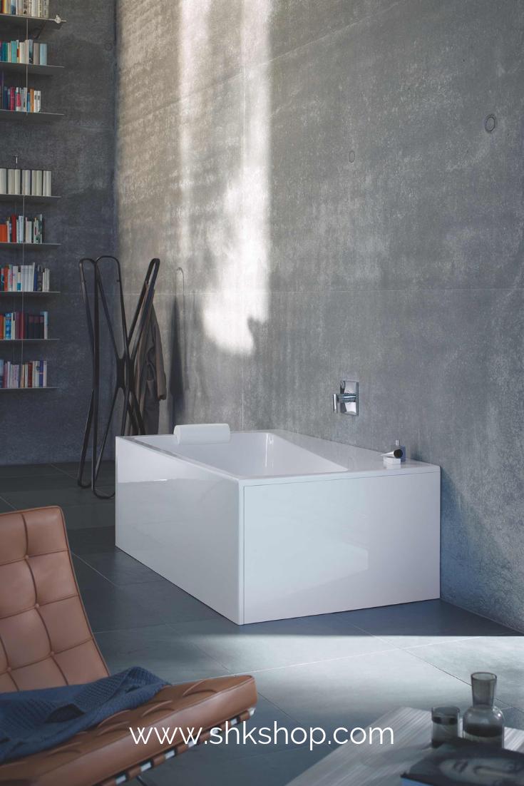 Duravit Paiova Die Gemutliche Halbfreistehende Badewanne Passt Mit Ihrem Modernen Zeitlosen Design In J Bad Design Badezimmer Design Badezimmer Inspiration