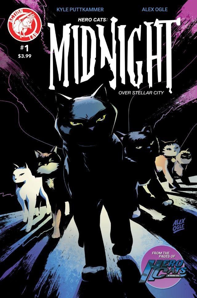 Hero Cats Midnight Over Stellar City 1 Hero, Comic