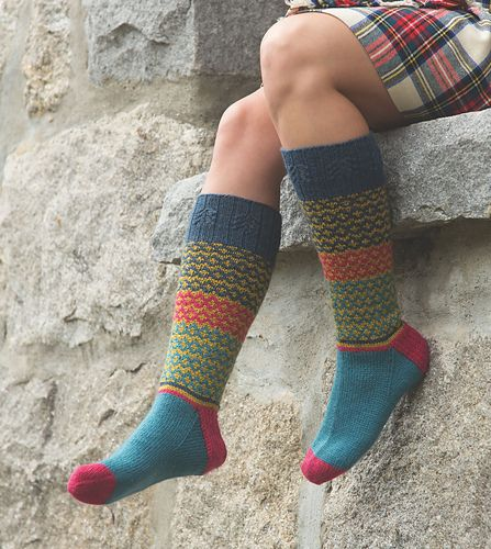 Ravelry: High Kirk pattern by Tian Foley