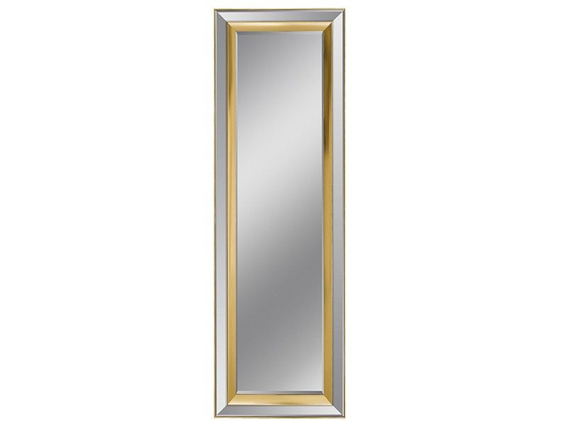 espejo rectangular con marco espejo y champn