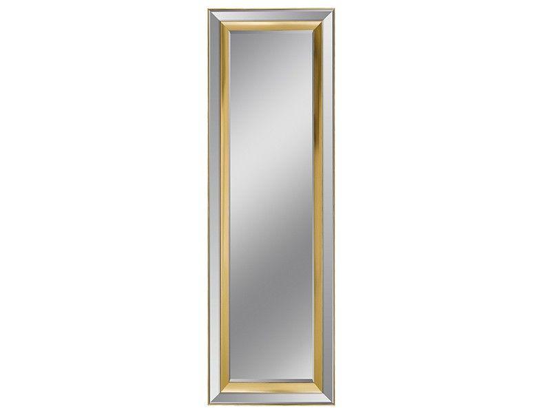 Espejo rectangular con marco espejo y champán | Marco espejo, Espejo ...