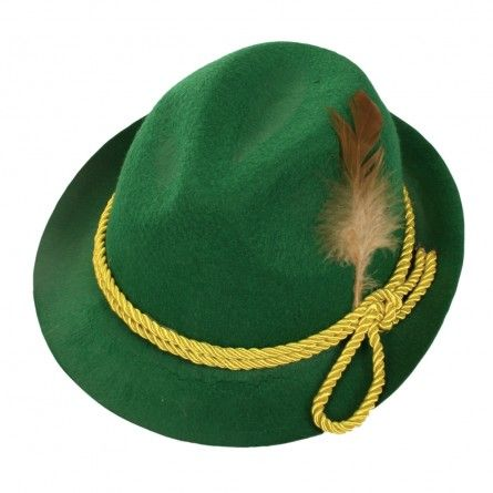 Adult Green Alpine Hat