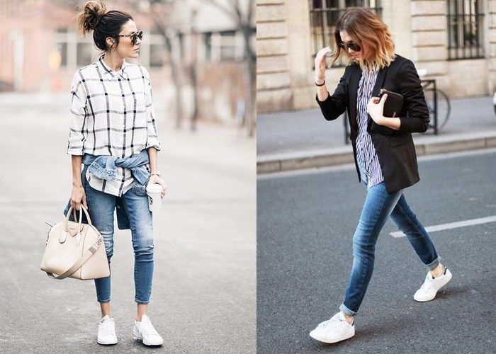 10 Ways to Wear Your White Trainers