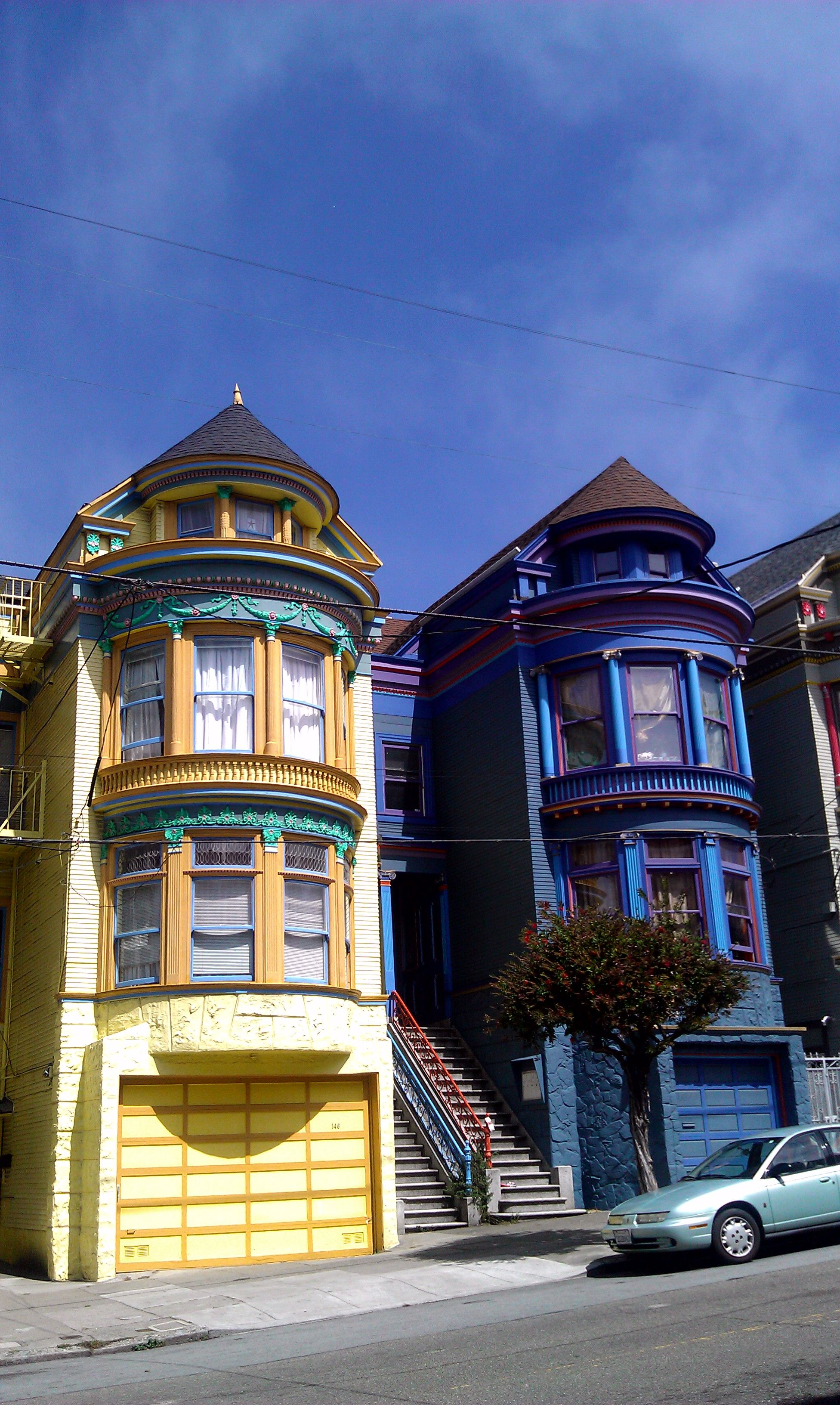 Yellow and blue - SF