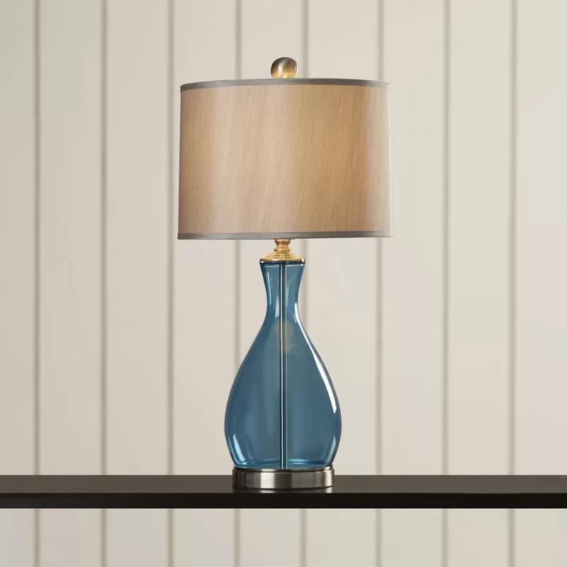 "Myles 28.25"" Ceramic LED Table Lamp Led table lamp"