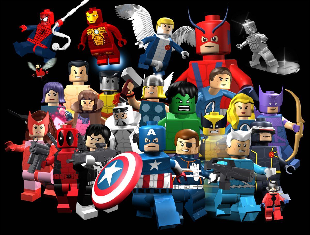 6 Malvorlagen Lego Superheroes: Lego Marvel Superheroes