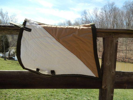 Bat Wing Saddle Pad Equestrian Baroque Style by HoosierHorsemen, $39.00