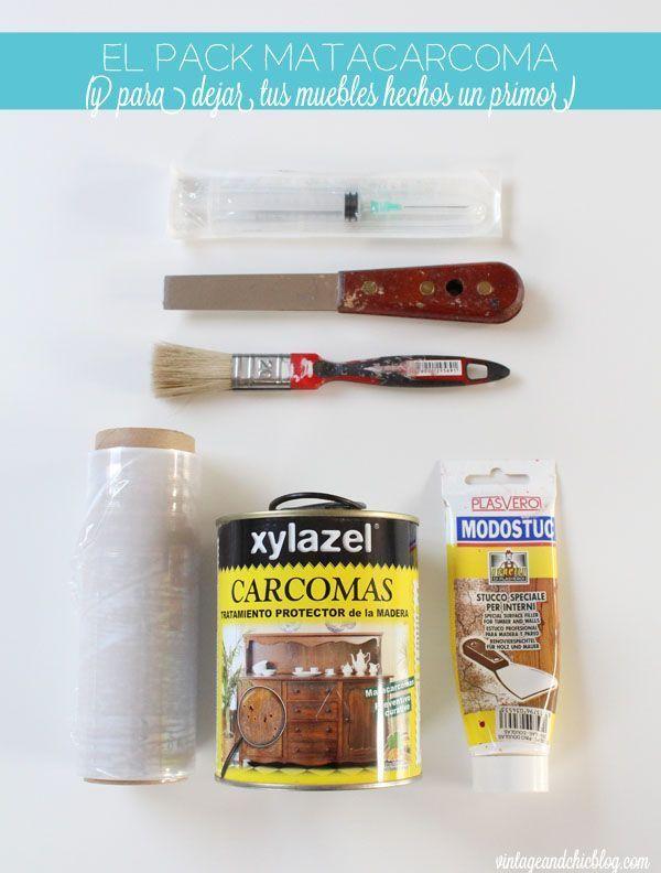 C mo quitar la carcoma o polilla de un mueble how to get rid of woodworm polilla eliminar y - Como eliminar la carcoma de los muebles ...