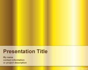 Pure gold powerpoint template is a free simple yellow powerpoint pure gold powerpoint template is a free simple yellow powerpoint template with gold style that you toneelgroepblik Gallery