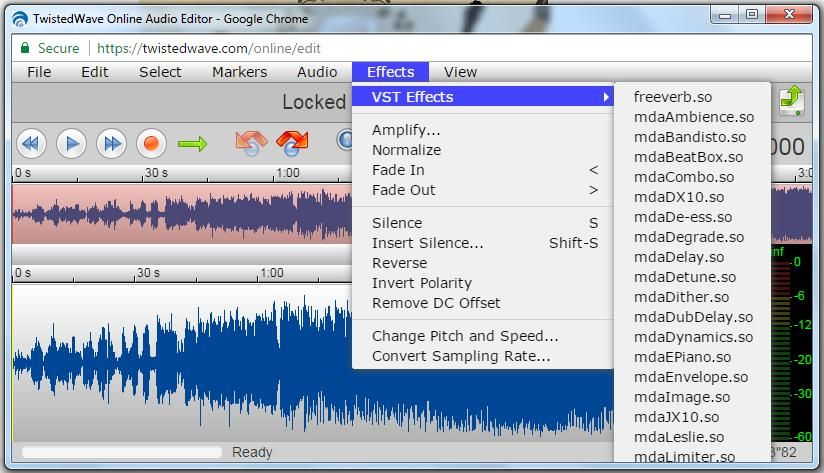 TwistedWave Online Sound Editor Sound editor, Osx, Editor