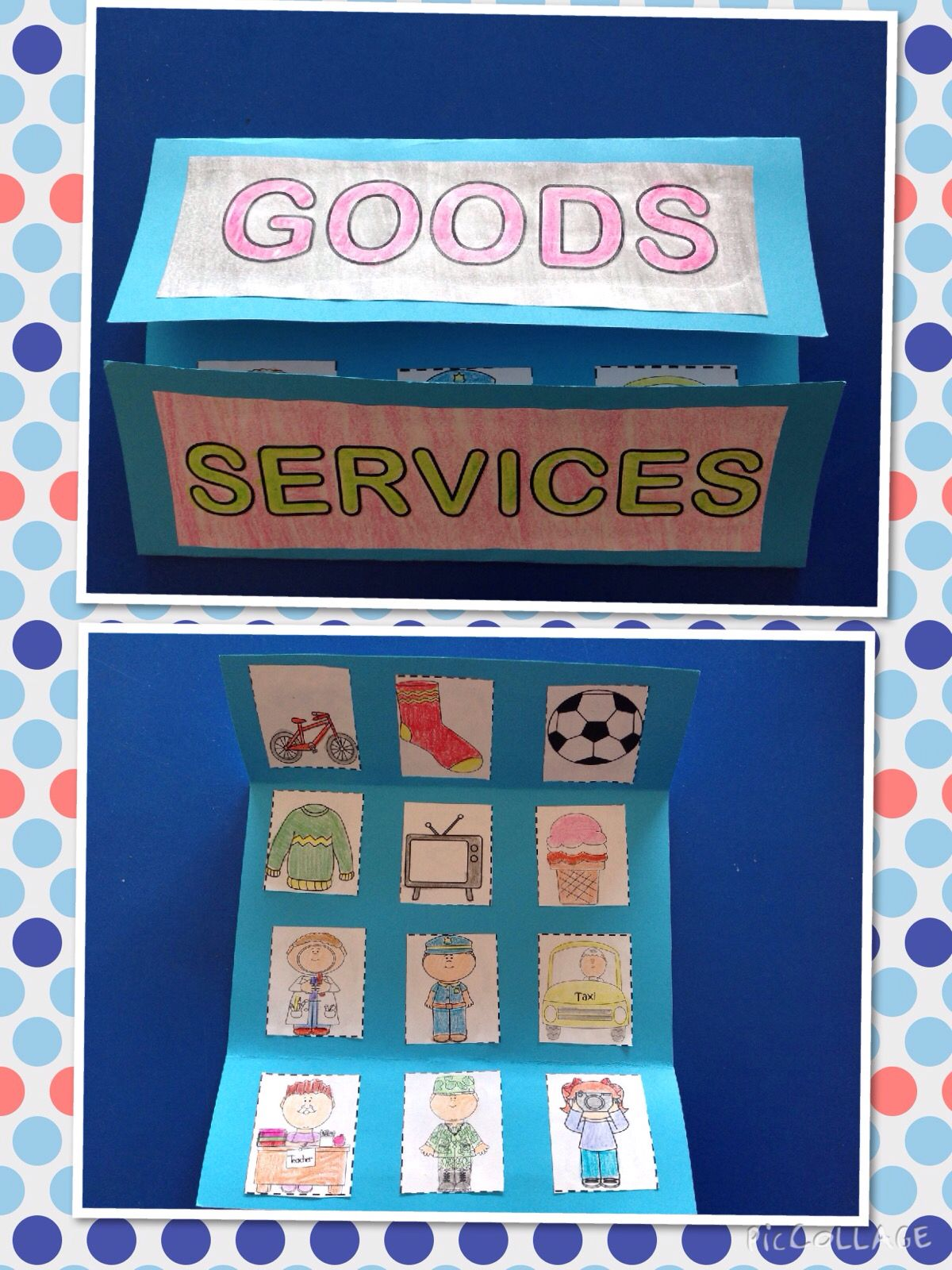 Goods And Services Foldable And Activites