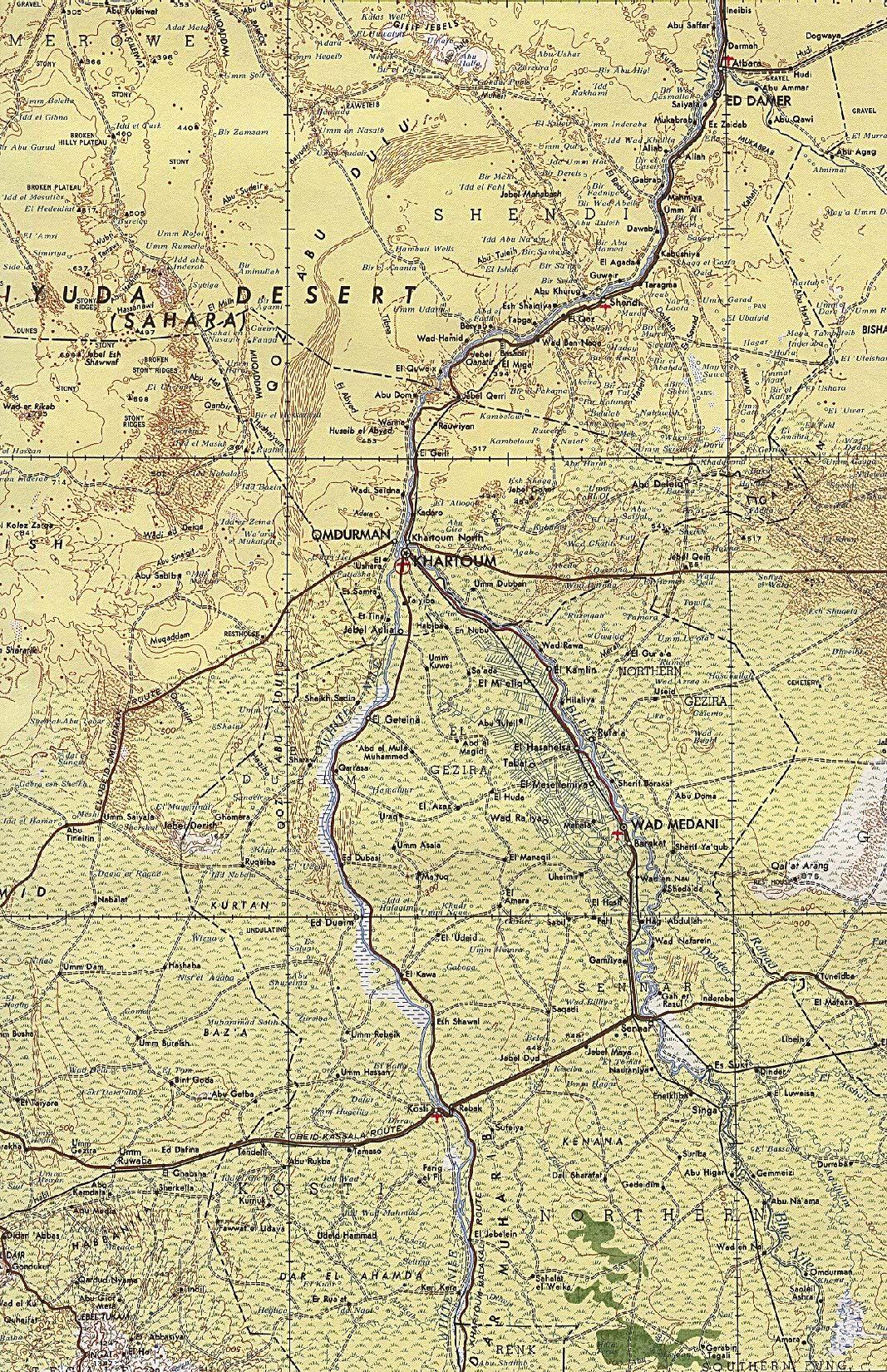 Khartoum Original Scale 1:2,000,000 Portion of U.S. Defense Mapping on accra world map, doha world map, moscow world map, sydney world map, london world map, mumbai world map, mogadishu world map, tokyo world map, paris world map, lagos world map, amman world map, new york world map, nairobi world map, berlin world map, kinshasa world map, victoria world map, shanghai world map, constantinople world map, stockholm world map, ankara world map,