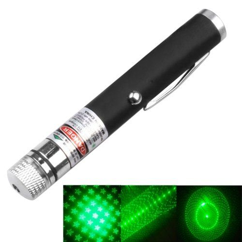 1mw+532nm+Green+Beam+Laser+USB+Stage+Pen+with+5+Laser+Light+Patterns,+Built-in+Battery