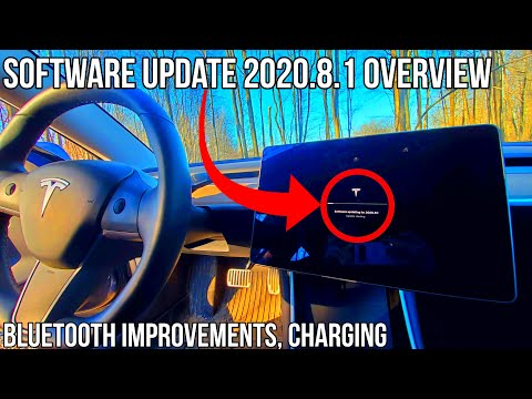 65 Discovering Unlisted Features In Tesla Update 2020 8 1 Superchargers Bluetooth Improvements Youtube Tesla Update Tesla Supercharger