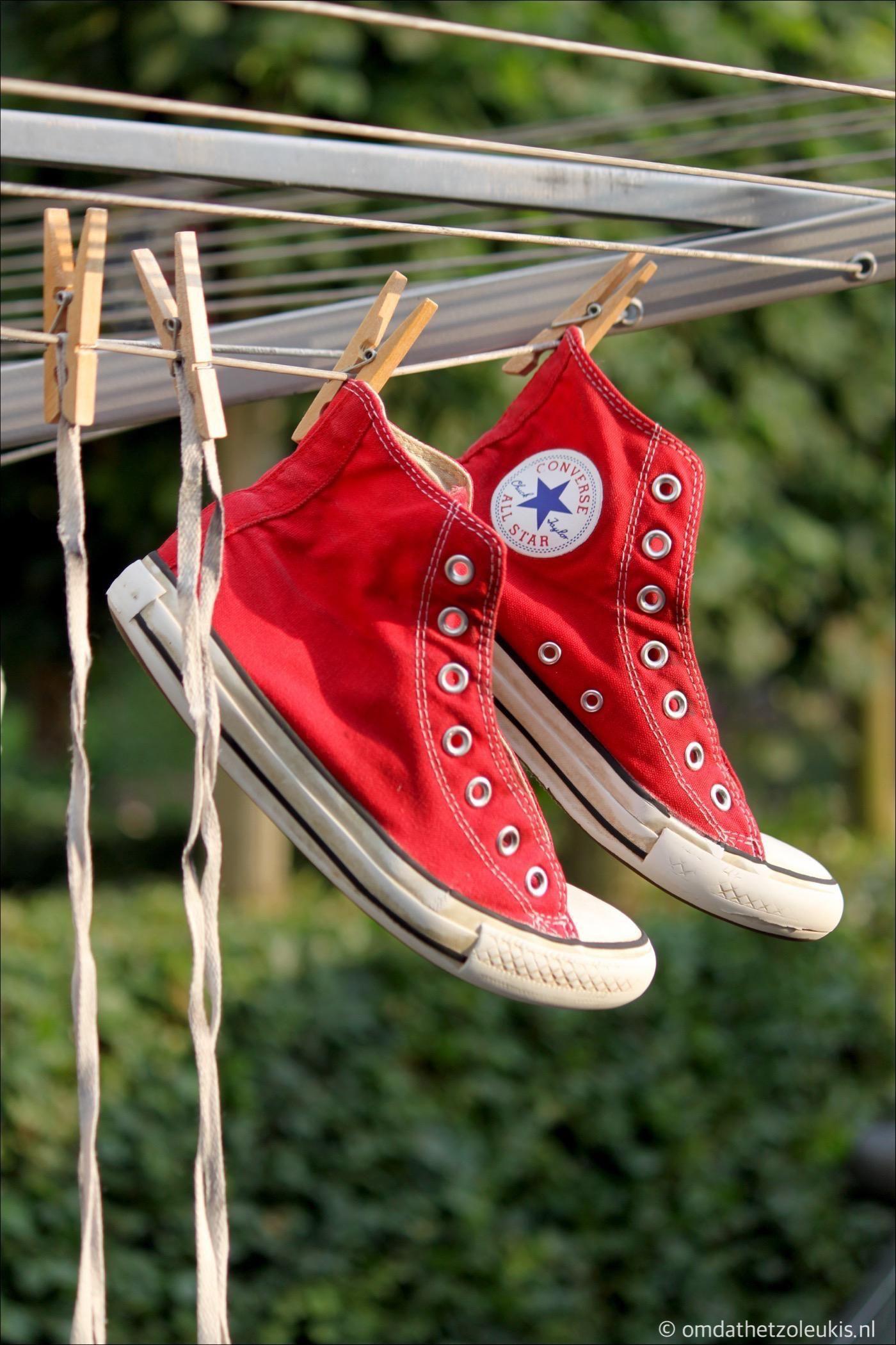 gympen wassen | Converse All Stars in wasmachine | Converse ...