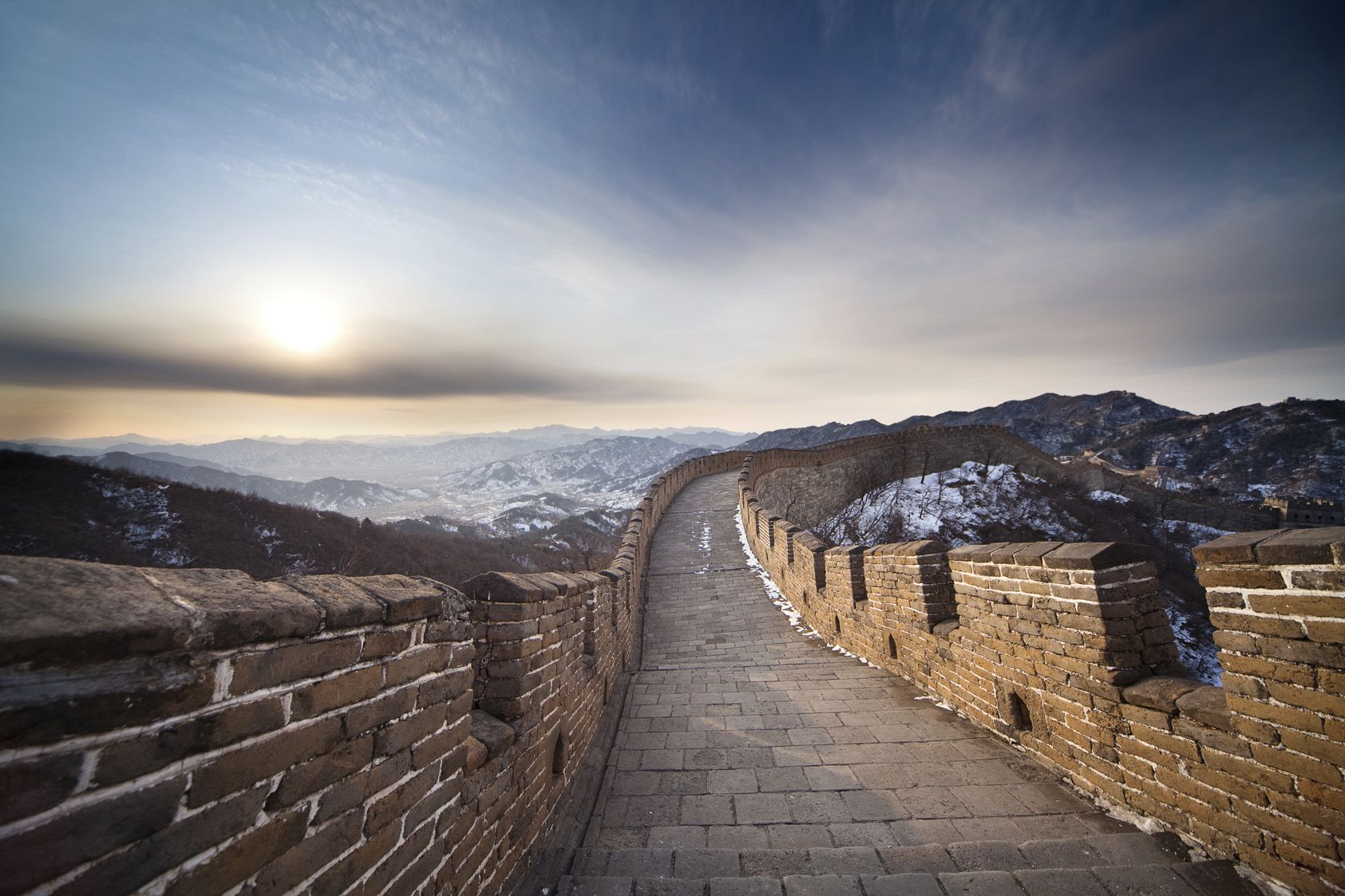 built over 2 000 years ago the great wall of china is on great wall id=83334
