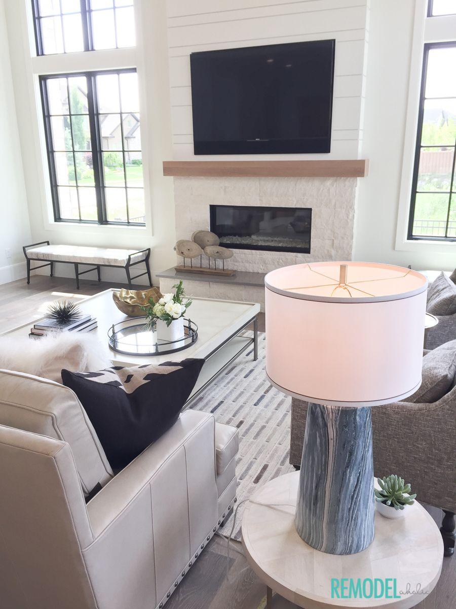 Get This Look Modern Farmhouse Living Room Home Modern