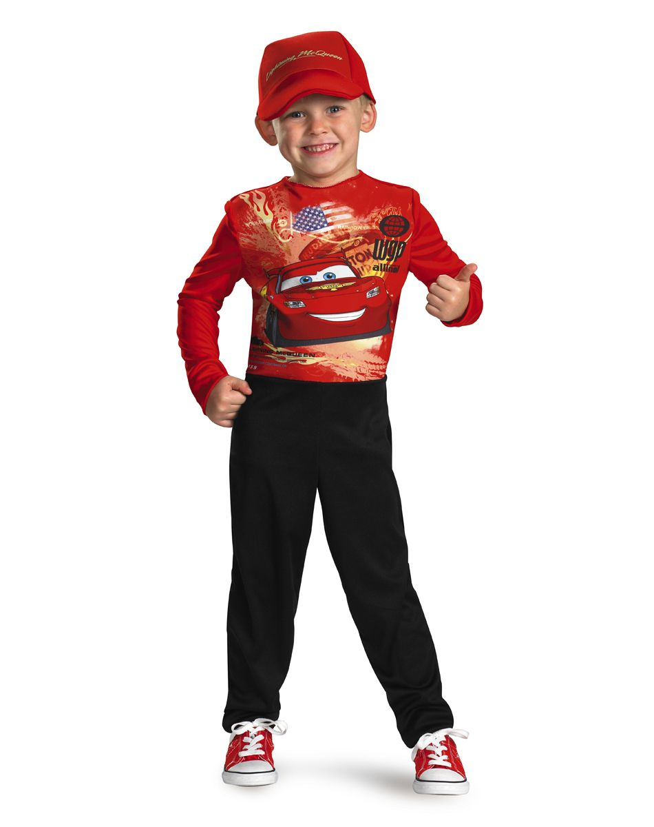 Costumes / TV and Movie Costumes / Cars 2 Lightning McQueen Boys ...