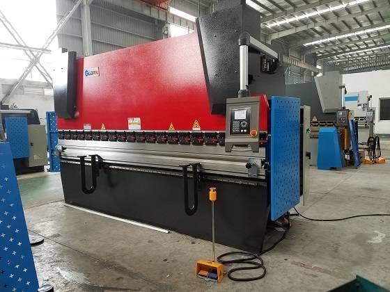 Wc67k Cnc Hydraulic Sheet Metal Press Brake Bender Machine With Da41s System Press Brake Machine Press Brake Sheet Metal Fabrication