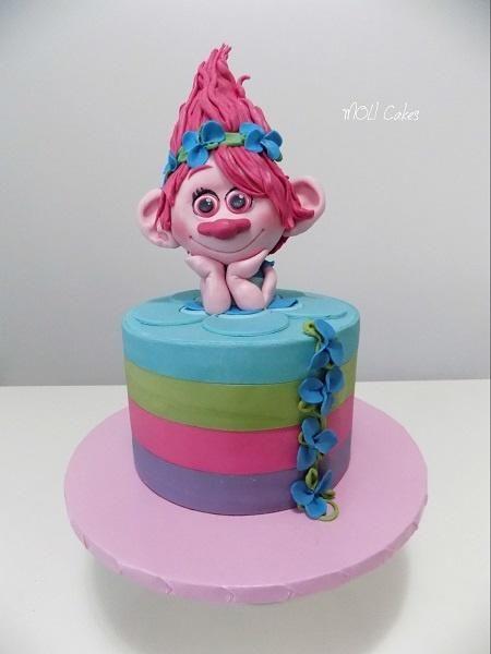Trolls Poppy By Moli Cakes Cakes Amp Cake Decorating