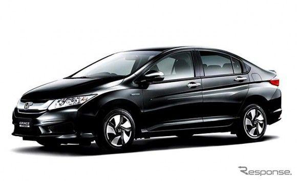Honda Grace Hybrid I Dcd Blog Car Hybrid Car Car Honda City