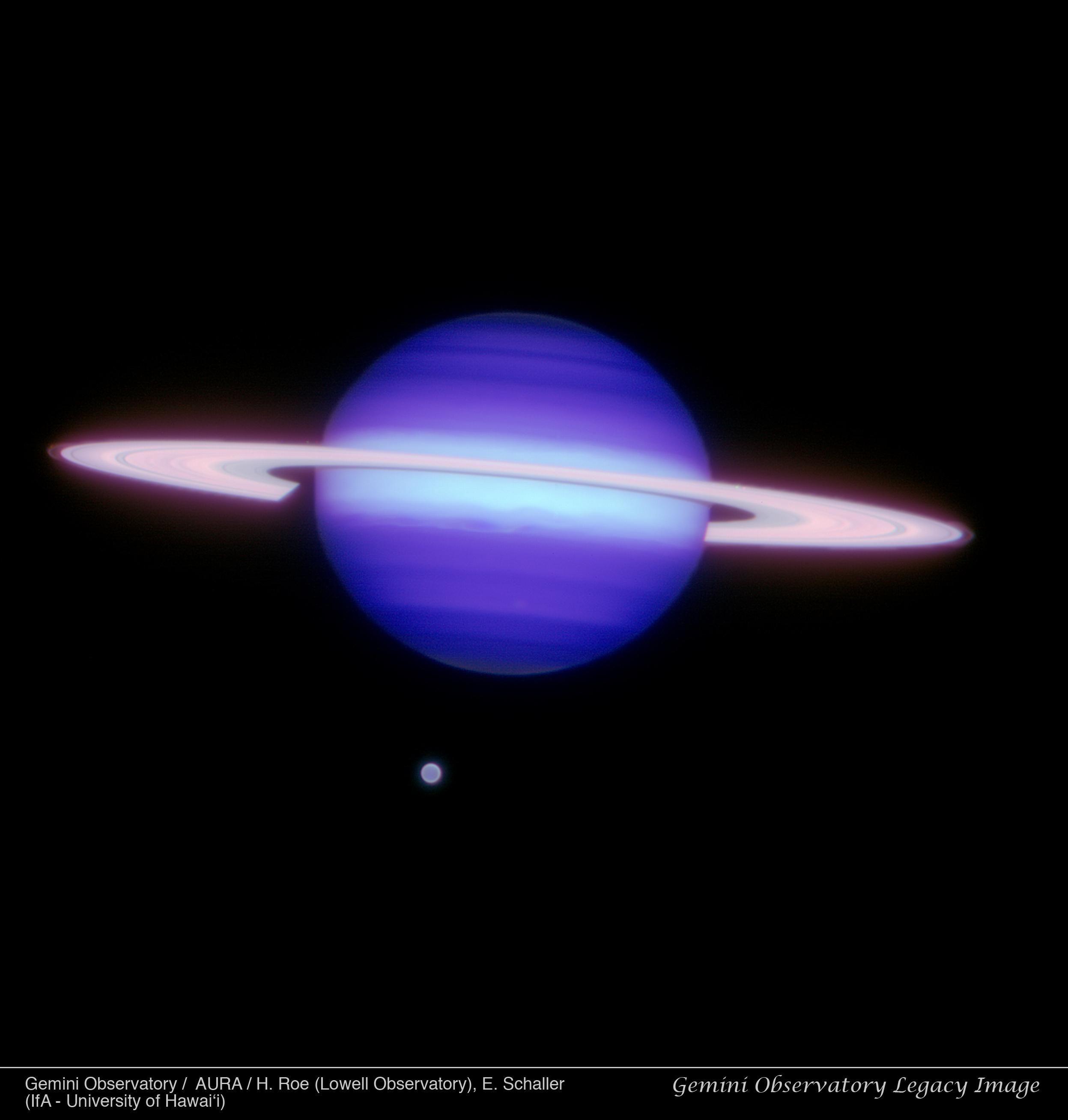 Saturn & Titan Gemini Image