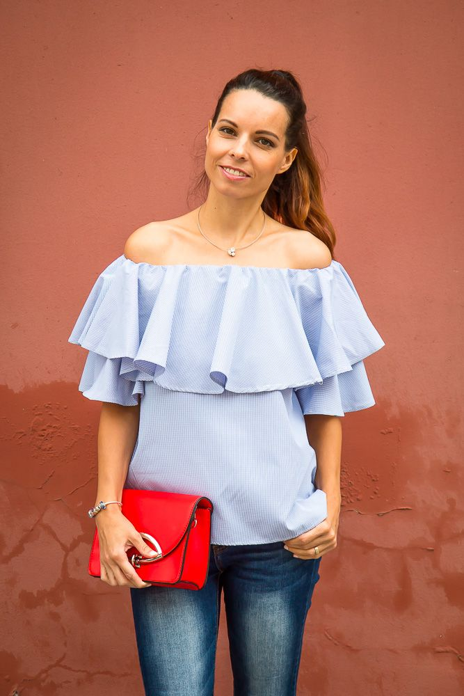 Off the shoulder blouse - Tina Chic