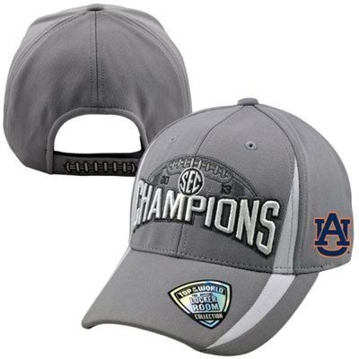 timeless design 71f0c 1ce2b Auburn Tigers 2013 SEC Football Champions Locker Room Adjustable Hat