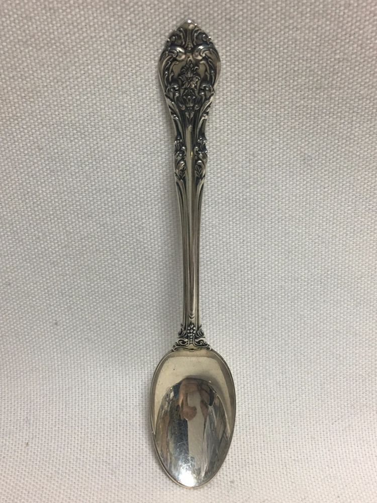 King Edward by Gorham Sterling Silver Demitasse Spoon 4 1//4/""