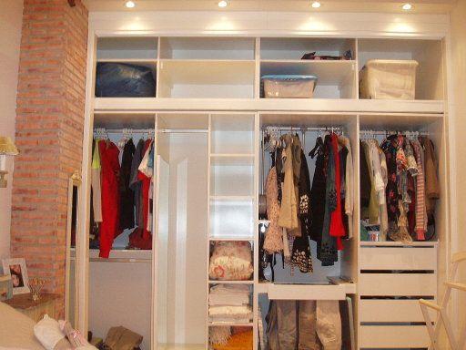 Distribucion de armarios decorar tu casa es vestidores pinterest sweet - Organizar armarios empotrados ...