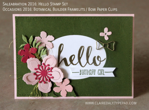 Birthday Cards Melbourne ~ Stampin up occasions 2016 saleabration 2016 australia melbourne