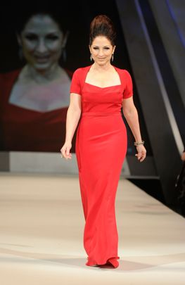 Red Dress Collection 2012 Fashion Show-- Gloria Estefan