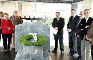 The British Embassy held a Holocaust Memorial Day activity in La Paz