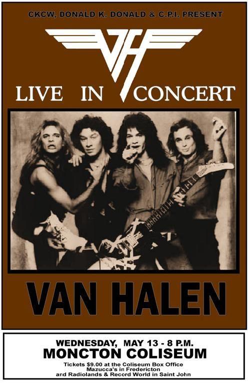 Van Halen Rock Band Logo Large Poster Art Print Gift A0 A1 A2 A3 A4 Maxi