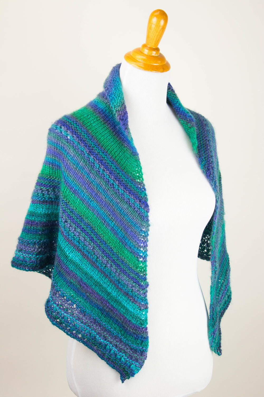 On the Wings of a Prayer Shawl   Free knit shawl patterns ...