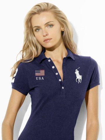 d0c53a46b Long Placket Flag Polo Shirt - Create Your Own Create Your Own - RalphLauren .com