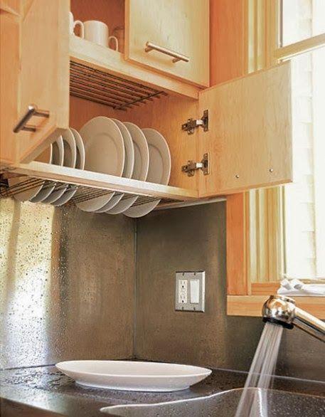 Escorredor de pratos na parede: Liberando a bancada!! + Pesquisa de ...