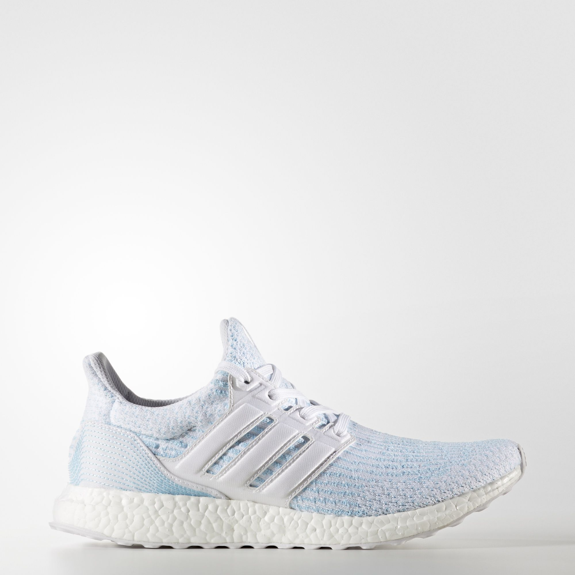 Running shoes · adidas Primeknit upper features yarn spun from Parley Ocean  Plastic™. Size 6 $200