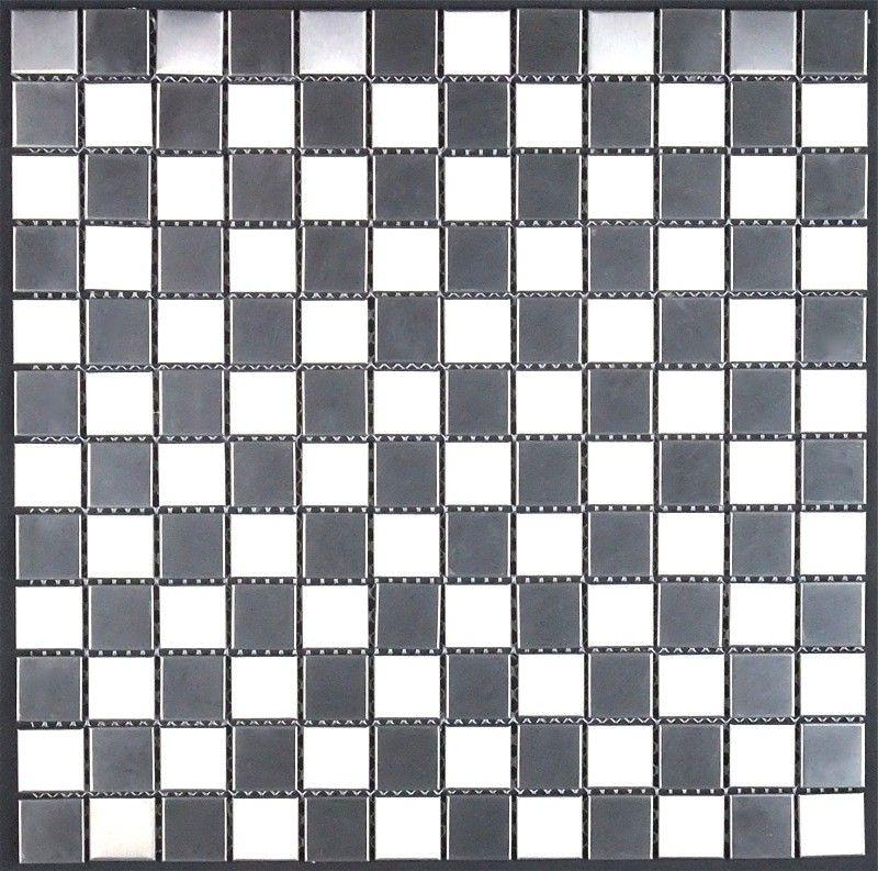 piastrelle mosaico in inox cucina e bagno mi-dam-25 14,90 € https ...
