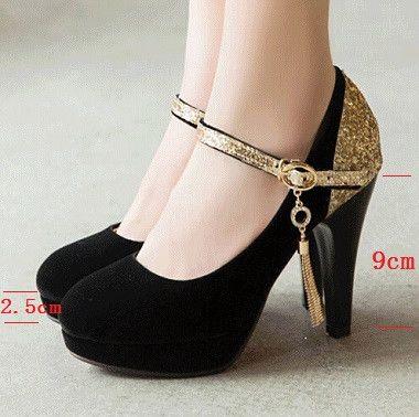 d6b8b93954 Zapatos de tacón alto de ante