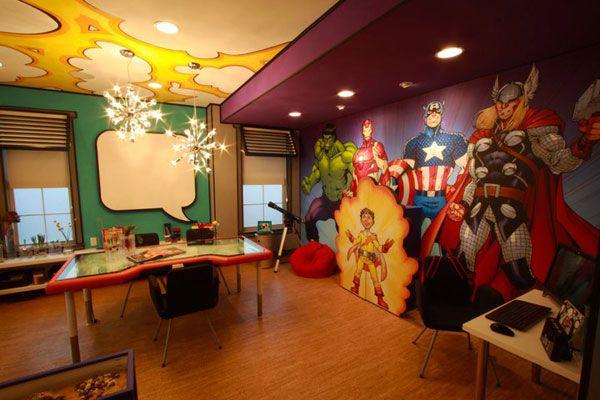 Avengers room